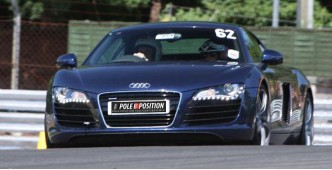 Audi R8 5 car track day experience