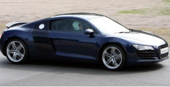 Audi R8 3 car track day experience (menage a trois)