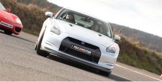NIssan GTR 4 car track day experience (Four play)
