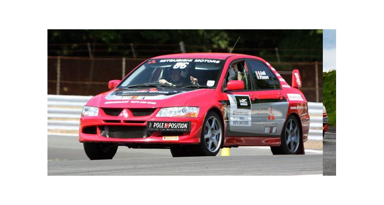Rally car  track day experience