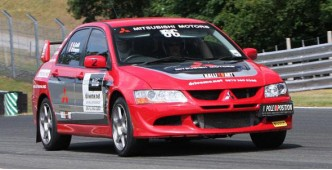 "Rally car ""Menage a trois"" - 3 car track day experience)"